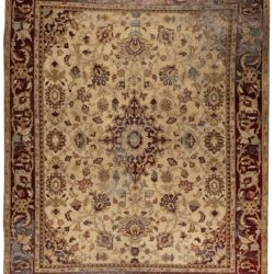 "Antique Indo Amritsar Rug 11'9""×14'6"""