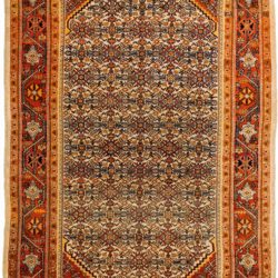 "Antique Persian Sultanabad 7'3""×10'8"""