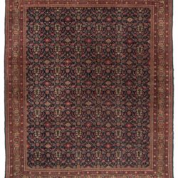 "Antique Sivas Hand-Knotted in Turkey Wool Rug 8'5""×10'0"""