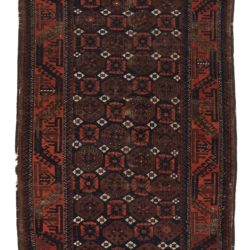 "Antique Tribal Belouchi Rug 3'4""×6'0"""