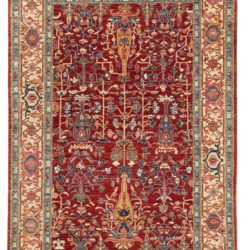 """New Afghan Rug with Traditional Design 4'0""""×6'0"""""""
