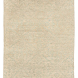 """New Antique-Style Afghani Rug 4'4""""×5'7"""""""