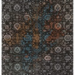 """New Ikats Design Wool Rug with Multi-Colored 7'10""""×10'2"""""""