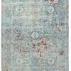 """New Indo Ikat Contemporary Floral Field Rug 8'0""""×10'2"""""""