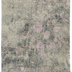 """New Indo Ikat Contemporary Floral Field Rug 8'2""""×10'1"""""""