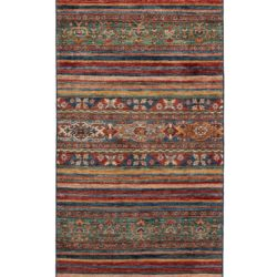 """New Pakistani Transitional Hand-Knotted Tribal Wool Runner 2'9""""×9'10"""""""
