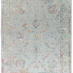 """New Transitional Indo Ikat Rug 9'0""""×11'10"""""""