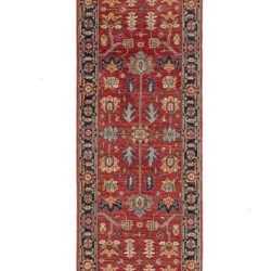 "New Transitional Large Motif Serapi Style Runner 3'0""×10'2"""