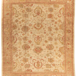 "New Turkish Oushak Rug 13'6""×16'2"""
