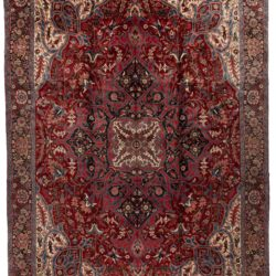 "Semi-Antique Heriz Rug 13'4""×18'10"""