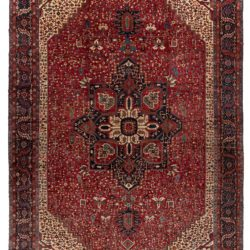 "Semi-Antique Heriz Rug 13'4""×20'1"""