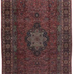 "Semi-Antique Kazvin Rug 12'1""×18'6"""