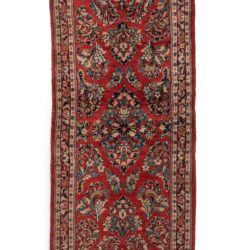 "Semi-Antique Sarouk Rug 2'9""×10'1"""