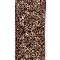 "Semi-Antique Tabriz Rug 2'8""×12'8"""