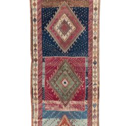 "Semi-Antique Turkish Yoruk Calias Size Rug 4'3""×16'2"""