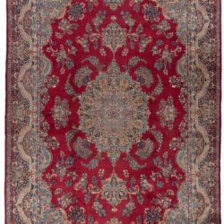 "Semi-antique Persian Kerman 13'0""×21'4"""
